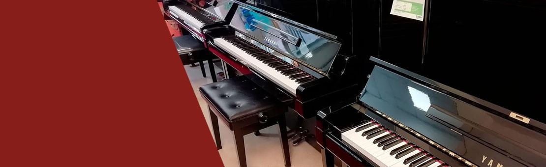 Pianos de Ocasión Yamaha y Kawai